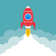 Rocket Launch - GraphicRiver Item for Sale