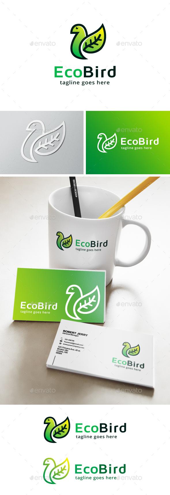 Nature Bird Logo - Nature Logo Templates