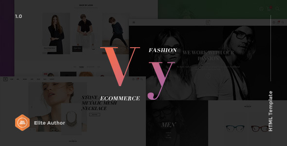 Vy – Fashion eCommerce HTML Template | Multi Layout