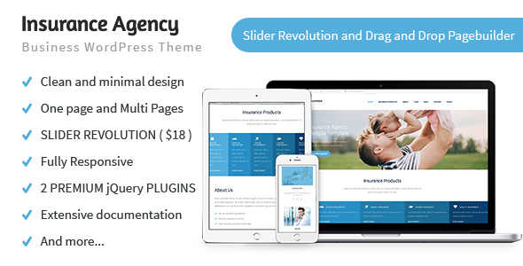 Insurance Agency - Business and Insurance WP Theme - Miscellaneous WordPress