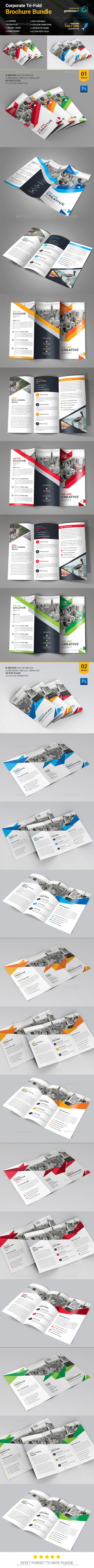 Trifold Brochure Bundle_1 - Corporate Brochures