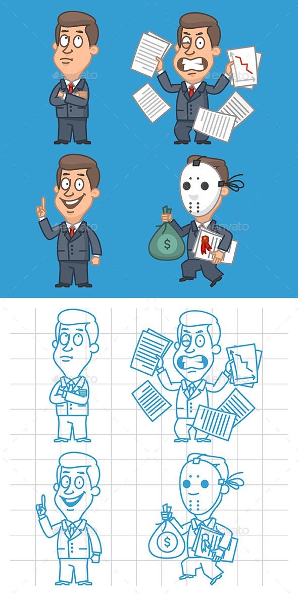 Businessman Part 3 - People Characters