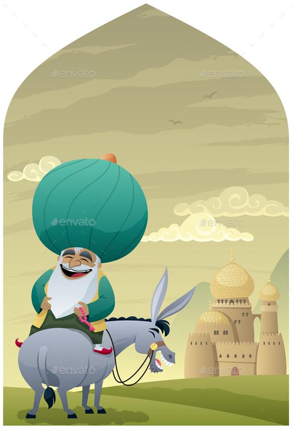 Nasreddin Hodja 2 - People Characters