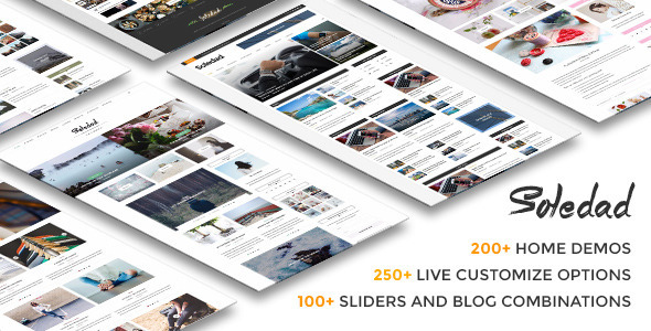 Soledad – Multi-Concept Blog/Magazine WP Theme