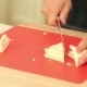 Chef Cutting White Bread Into Pieces To Cook - VideoHive Item for Sale