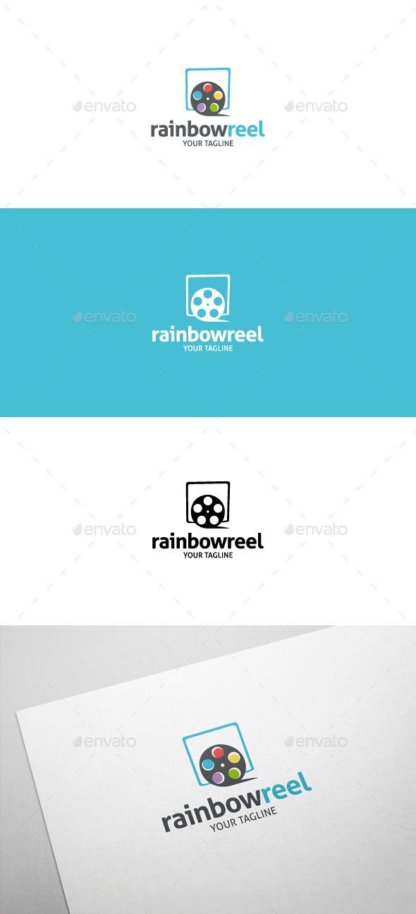 Rainbow Reel Logo - Symbols Logo Templates