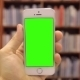 Smart Phone On Library Chroma Key - VideoHive Item for Sale