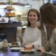 Girls Having Fun Talking In Coffee Shop - VideoHive Item for Sale