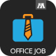 Office Job Logo - GraphicRiver Item for Sale