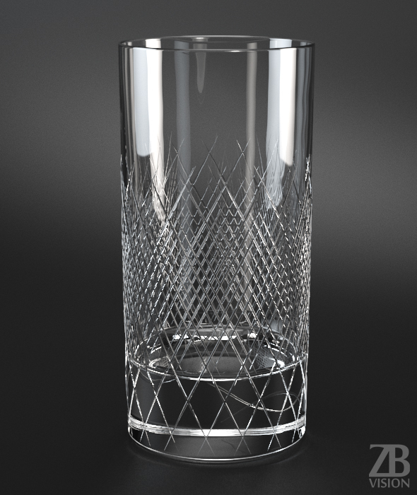 Longdrink Glass - 3DOcean Item for Sale