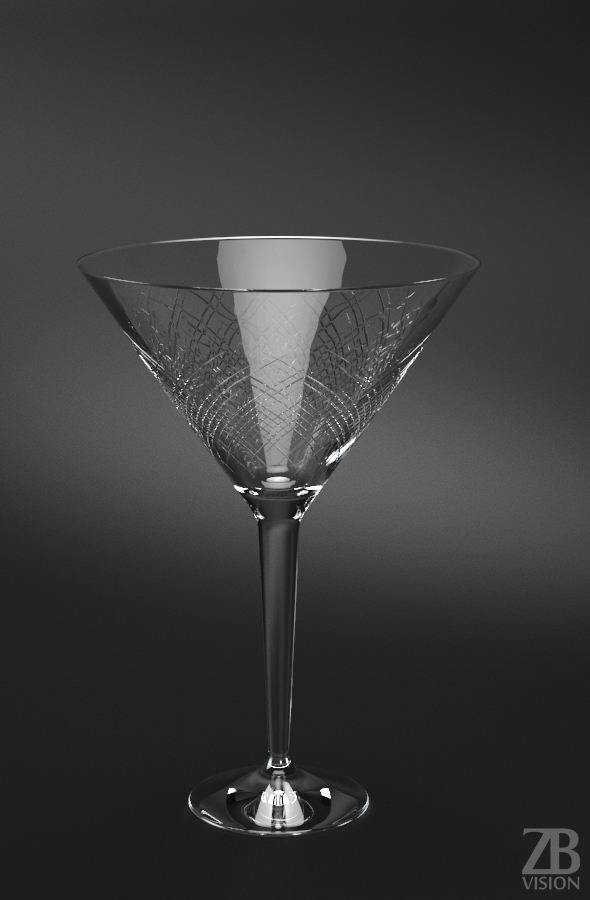 Martini Cup - 3DOcean Item for Sale