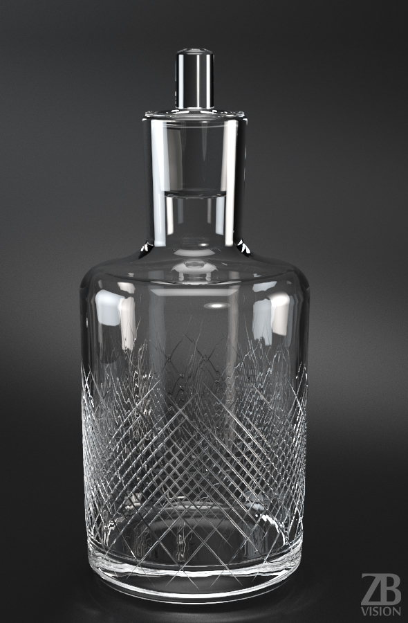 Whisky Carafe - 3DOcean Item for Sale