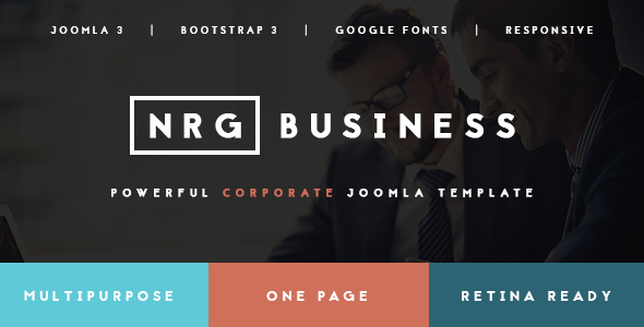 NRGbusiness - Corporate Template for Innovators - Business Corporate