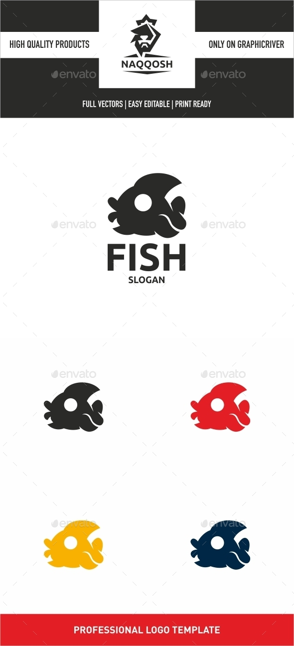 Fish - Animals Logo Templates