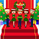 Kids singing Christmas Carols - GraphicRiver Item for Sale