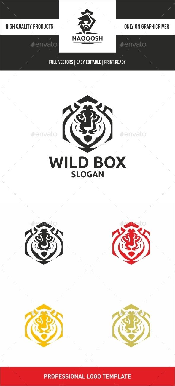 Wild Box - Symbols Logo Templates