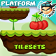 Platformer Game Tilesets 10 - GraphicRiver Item for Sale