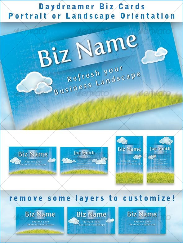 Daydreamer Biz card - Creative Business Cards