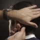 Hairdresser Combing Male Hair - VideoHive Item for Sale