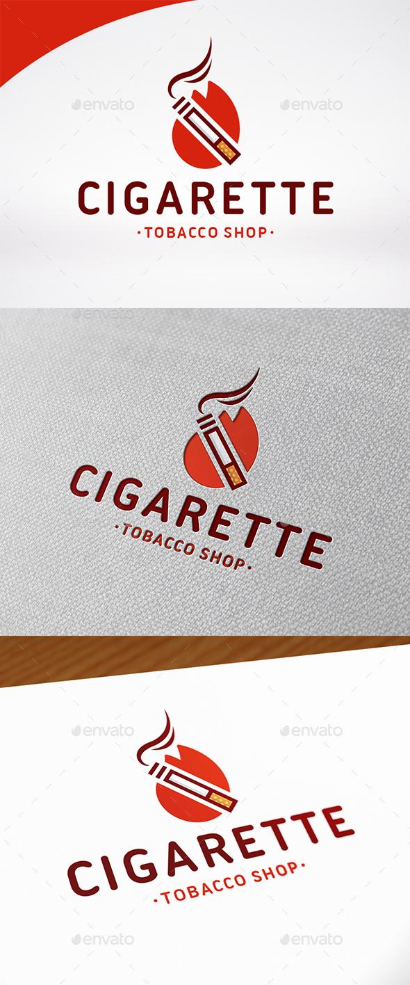 Cigarette Logo Template - Symbols Logo Templates