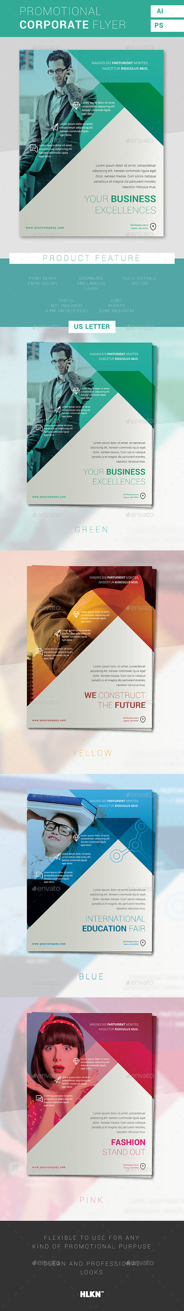 Promotional Corporate Flyer - Corporate Flyers