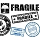 Fragile stamps - GraphicRiver Item for Sale