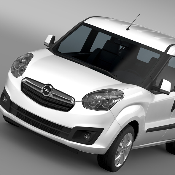 Opel Combo Tour ecoFLEX (D) 2015 - 3DOcean Item for Sale
