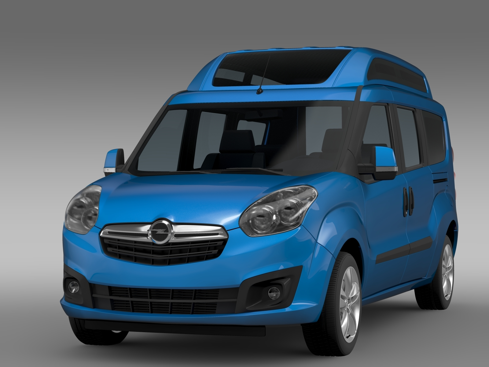 opel combo tour high roof lwb d 2015 by creator 3d 3docean. Black Bedroom Furniture Sets. Home Design Ideas
