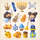 Hanukkah Icons Set - GraphicRiver Item for Sale