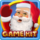 Christmas lights slots game kit - GraphicRiver Item for Sale