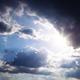 Sun Bursting Through Clouds - VideoHive Item for Sale
