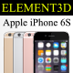 Element3D - iPhone 6S - 3DOcean Item for Sale