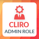 Cliro - Custom Admin Role for Client - CodeCanyon Item for Sale