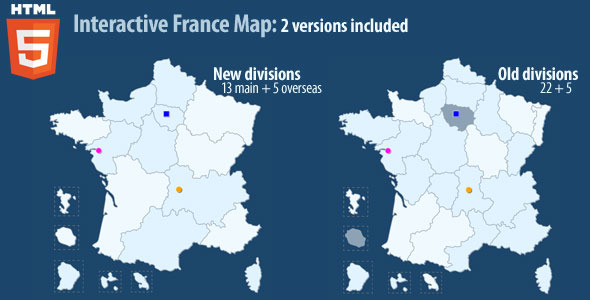 Interactive map of france html5 by art101 codecanyon interactive map of france html5 codecanyon item for sale gumiabroncs Image collections