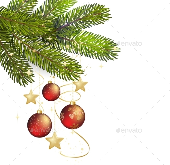 Christmas Background Illustration - Miscellaneous Vectors