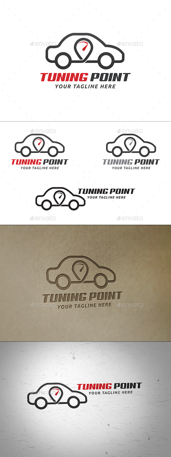 Car Tuning Point Logo - Symbols Logo Templates