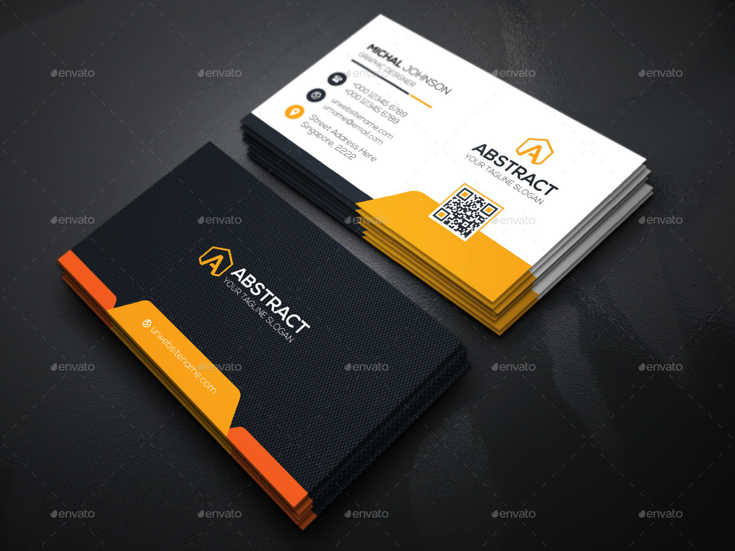 New Mega Star Business Card by generousart | GraphicRiver