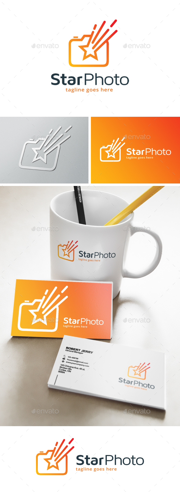 Star Photography Logo - Objects Logo Templates