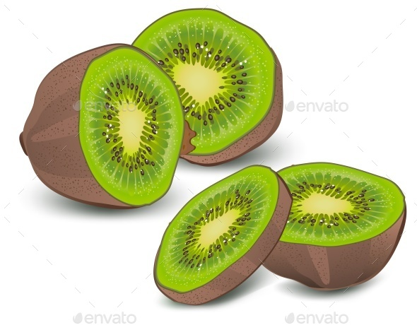 Kiwi - Food Objects