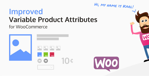 Improved Variable Product Attributes for WooCommerce - CodeCanyon Item for Sale