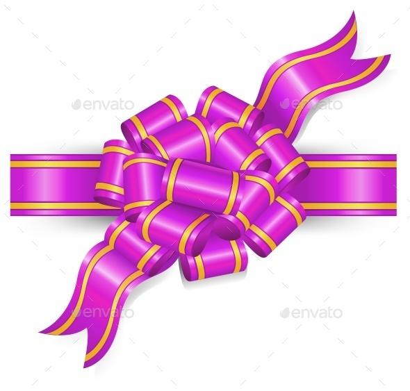 Violet Bow - Birthdays Seasons/Holidays