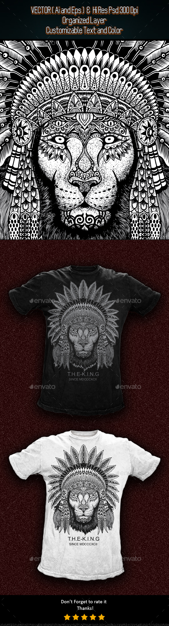 The King - Grunge Designs