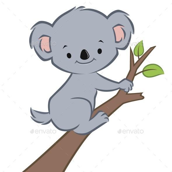 Cartoon Koala - Animals Characters