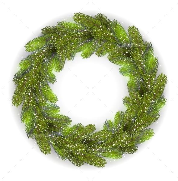 Detailed Christmas Wreath - Christmas Seasons/Holidays