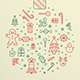 Cool Icon Christmas Flyer - GraphicRiver Item for Sale