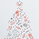 Minimal Icon Christmas Flyer - GraphicRiver Item for Sale