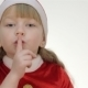 Kid Girl Showing Shh - VideoHive Item for Sale