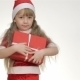 Kid Holding a Gift In a Red Box - VideoHive Item for Sale