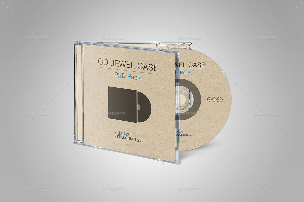 9 CD Jewel Case Mock-ups by raduluchian | GraphicRiver