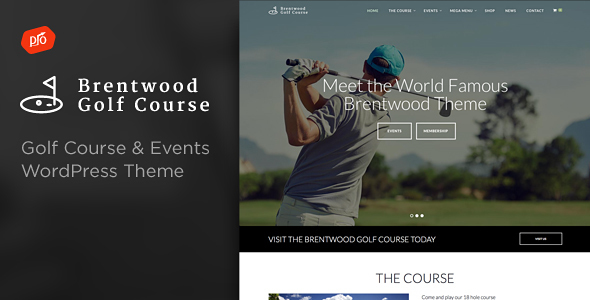 Brentwood – Golf Course Theme